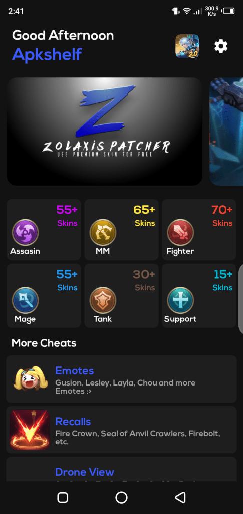 Screenshot-of-ZPatcher-Injector-ML-Apk