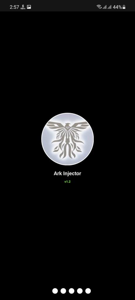 Screenshot of Ark Injector