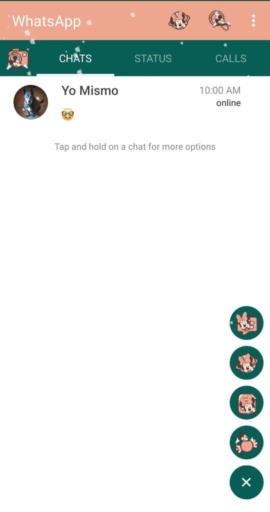 Screenshot of RA WhatsApp Apk