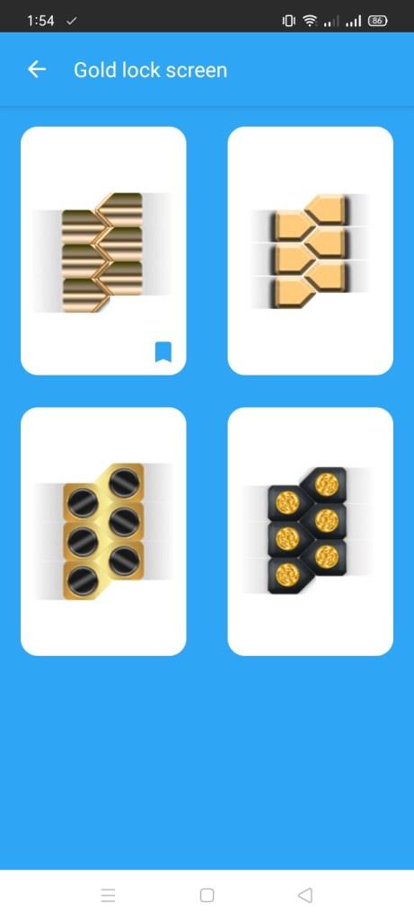 Screenshot-of-Gold-Screen-Lock