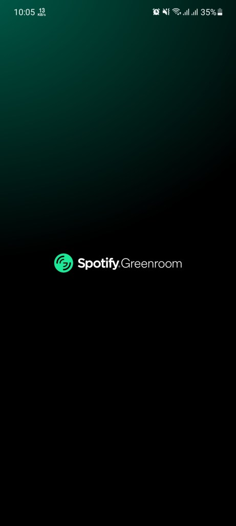 Screenshot-of-Spotify-Green-Room-Apk