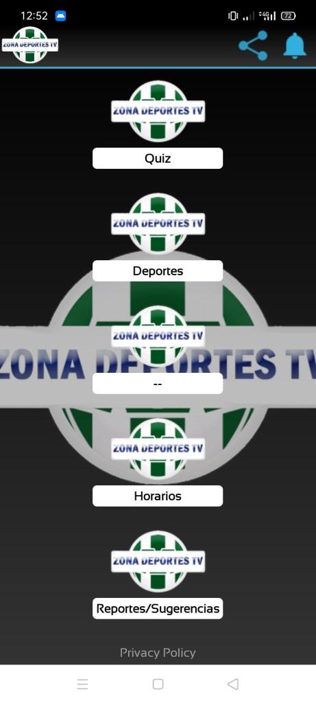 Screenshot-of-Zona-Deportes-TV-Apk