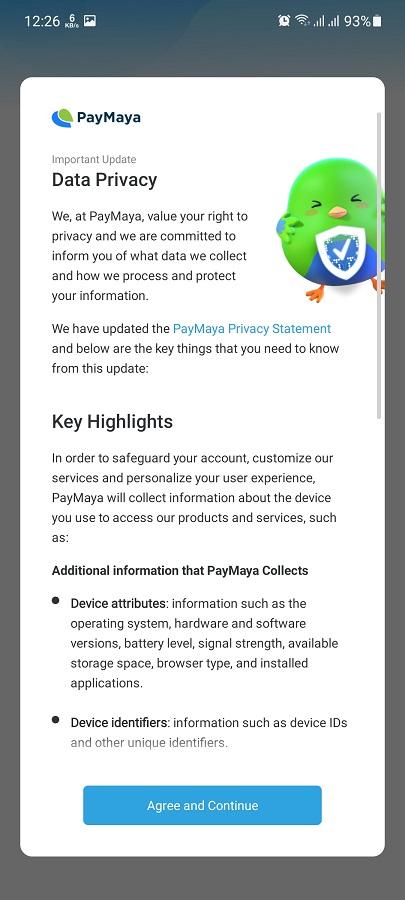 Isithombe-skrini se-PayMaya