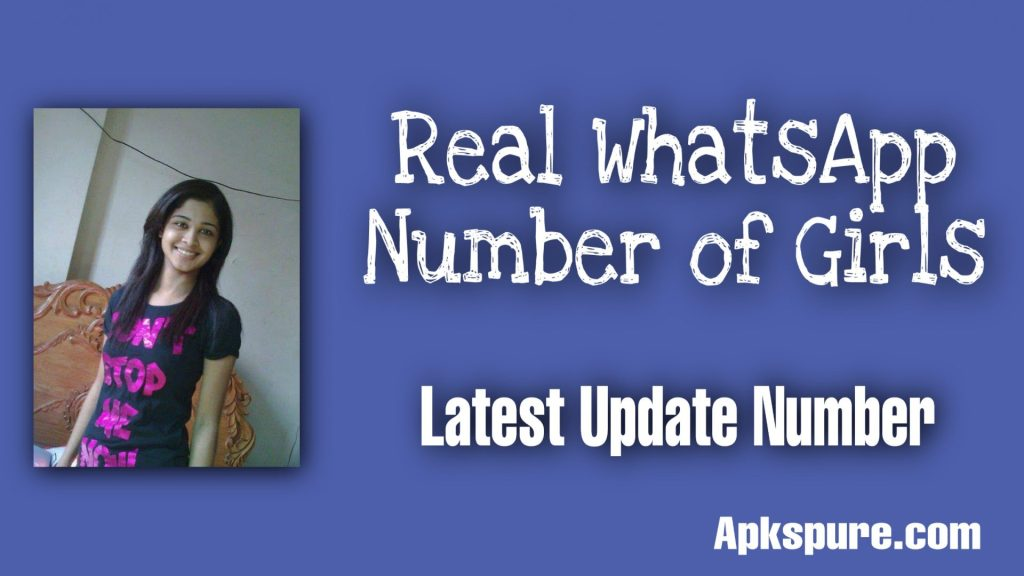 Real WhatsApp Number of Girls
