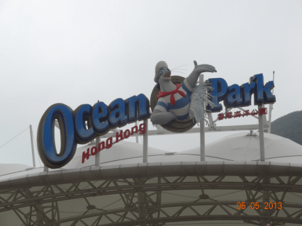 Ocean Park with Shirley!