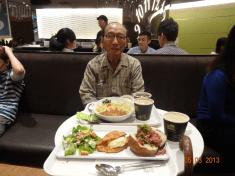 Grandpa + Food