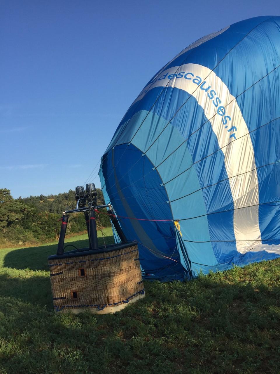 Preparation-montgolfiere