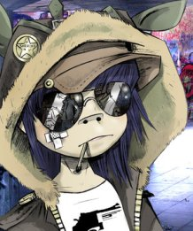 Gorillaz-Cyborg-Noodle.-Super-Short-Animated-Video-on-Gorillaz-Noodle