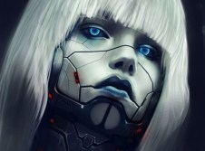 women robots blue eyes fantasy art white hair 1920x1429 wallpaper_www.paperhi.com_83