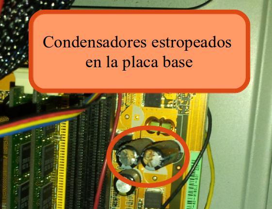 condensadores-estropeados-placa-base