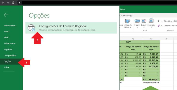 Como Alterar Formato da Data no Excel