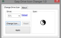 s easy drive icon changer