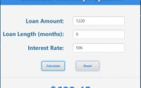 s apache lending calculator