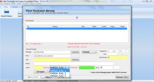Software Toko 3 Harga dan Hutang Piutang