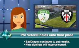 223: Pro Vercelli holds onto third place
