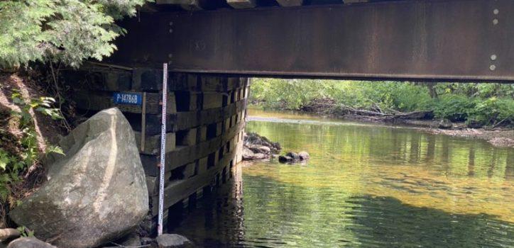 Surveillance du niveau d'eau au Lac à la Truite