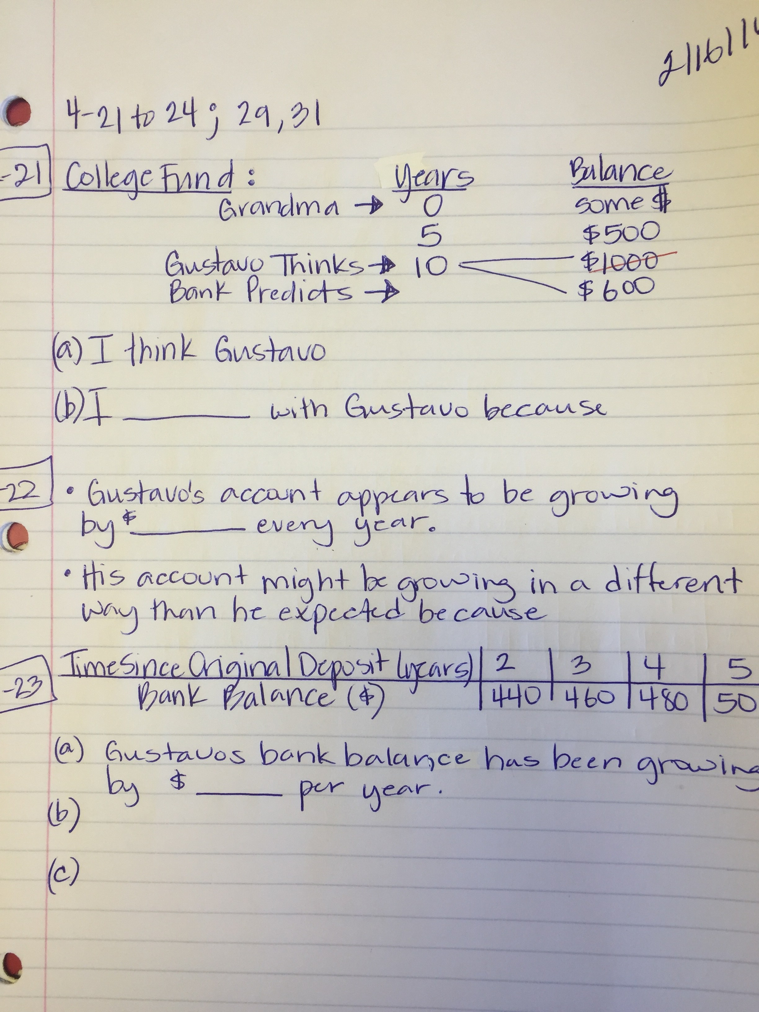Core Connections Algebra Chapter 9