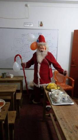 Santa Claus at OUR COACHING pOINT