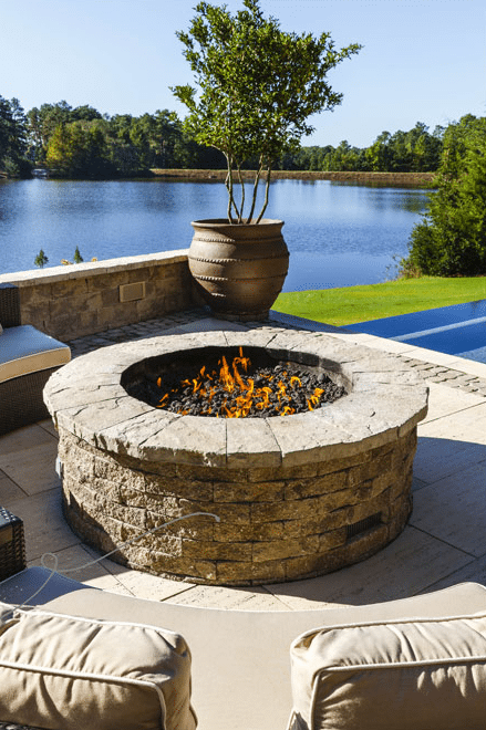 outdoor gas fire pit Berks County, PA