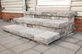 natural stone outdoor stairs in lancaster pa