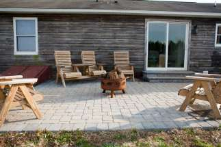outdoor fire pit in Manheim, PA