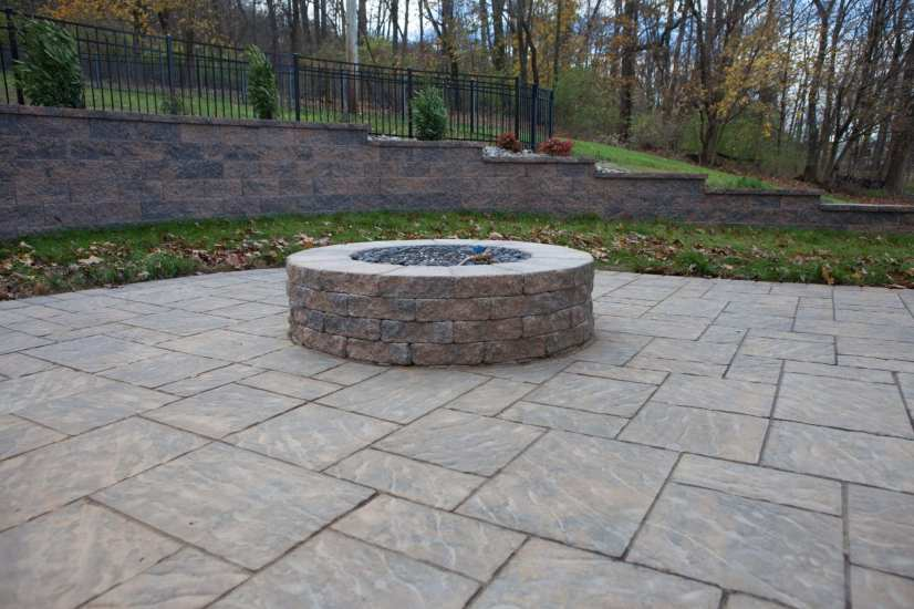 backyard fire pit Berks County, PA