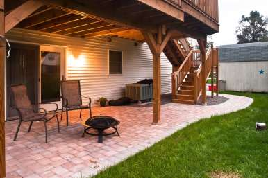 outdoor fire pit in Lebanon, PA