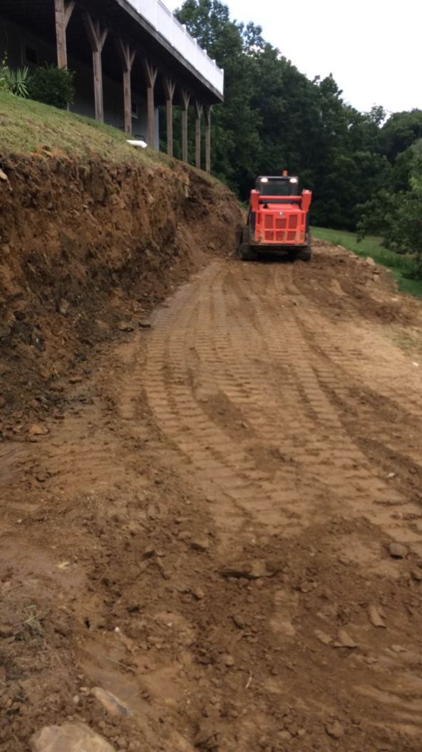 land clearing contractor project in Lebanon County, PA