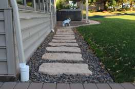 natural stone stepping stones in Lebanon County, PA