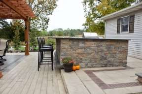 outdoor kitchen in berks county pa