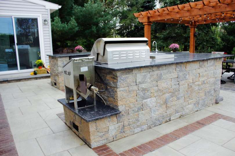 outdoor kitchen in lebanon pa