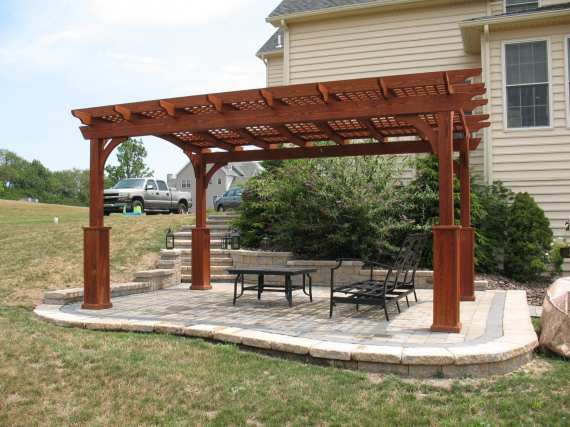 custom wood pergolas in lancaster pa
