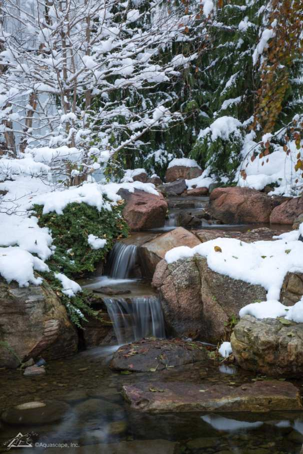 outdoor waterfall in berks county pa