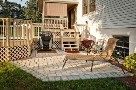 stone patio in Lebanon pa