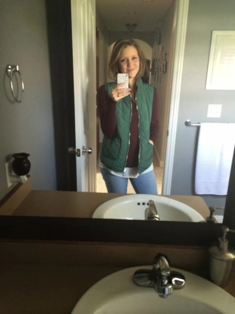 Stitch Fix Green Vest