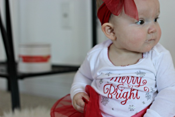 The Smell Of Babys First Christmas by Missouri mom blogger A + Life