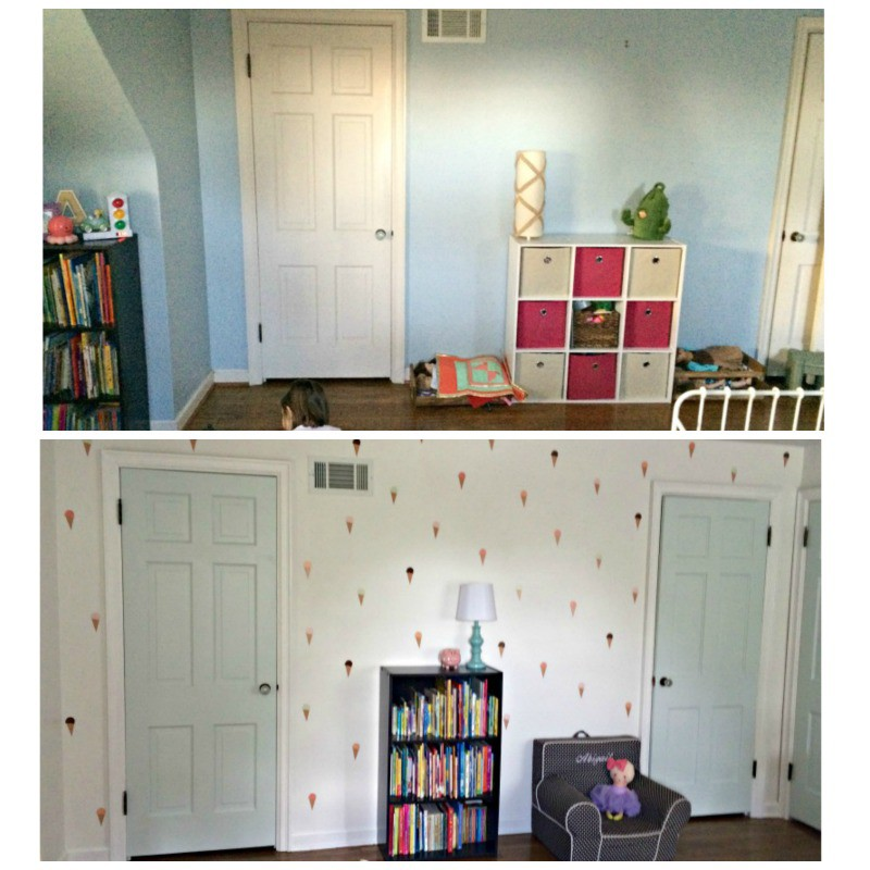 Abigail Bedroom Before And After 2