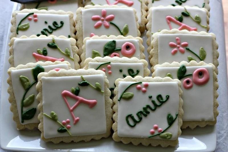 Baby Shower Cookies #babyshowerfood #babyshowerdessert