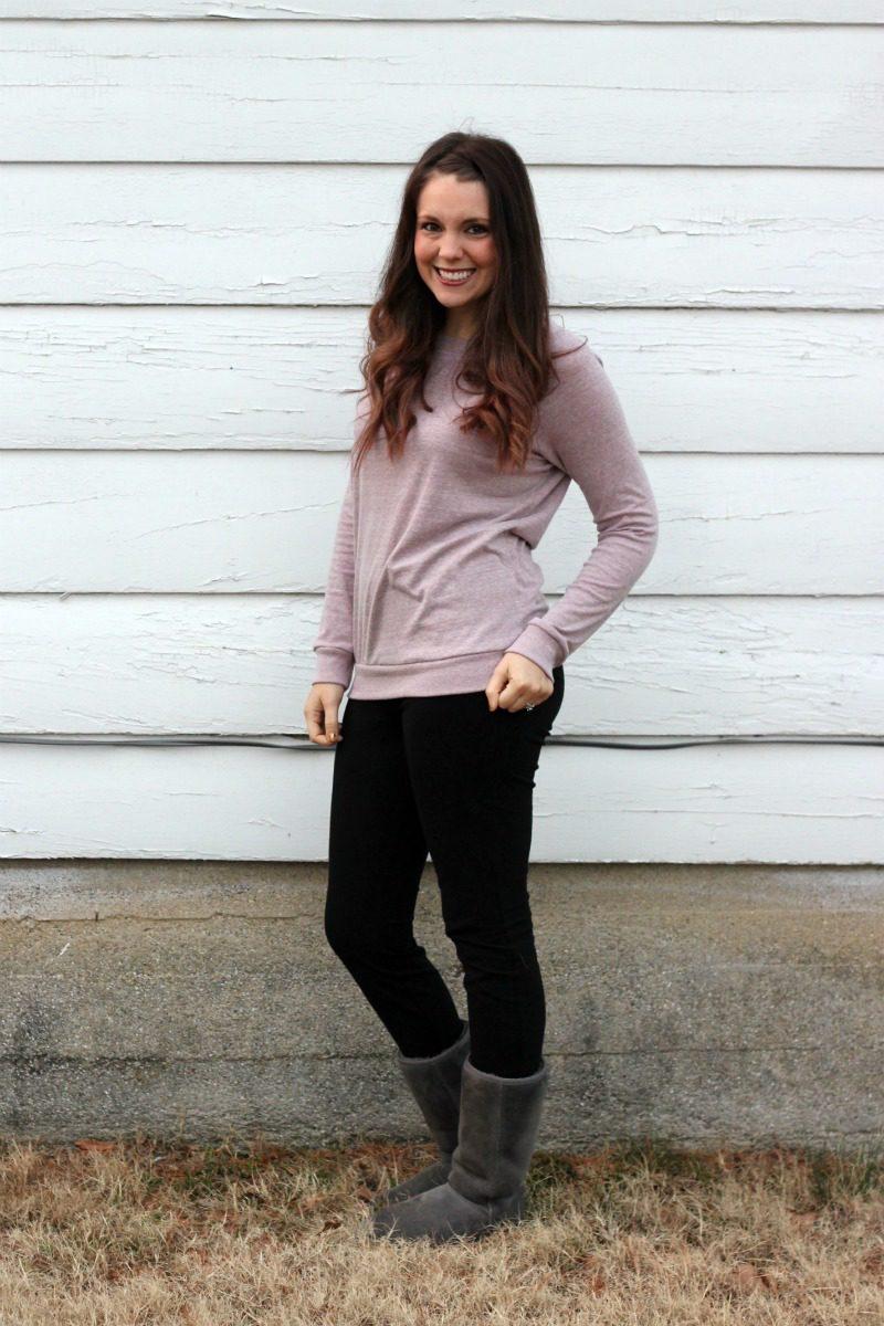 Ink Love & Peace Monta Knit Pullover Sweatshirt
