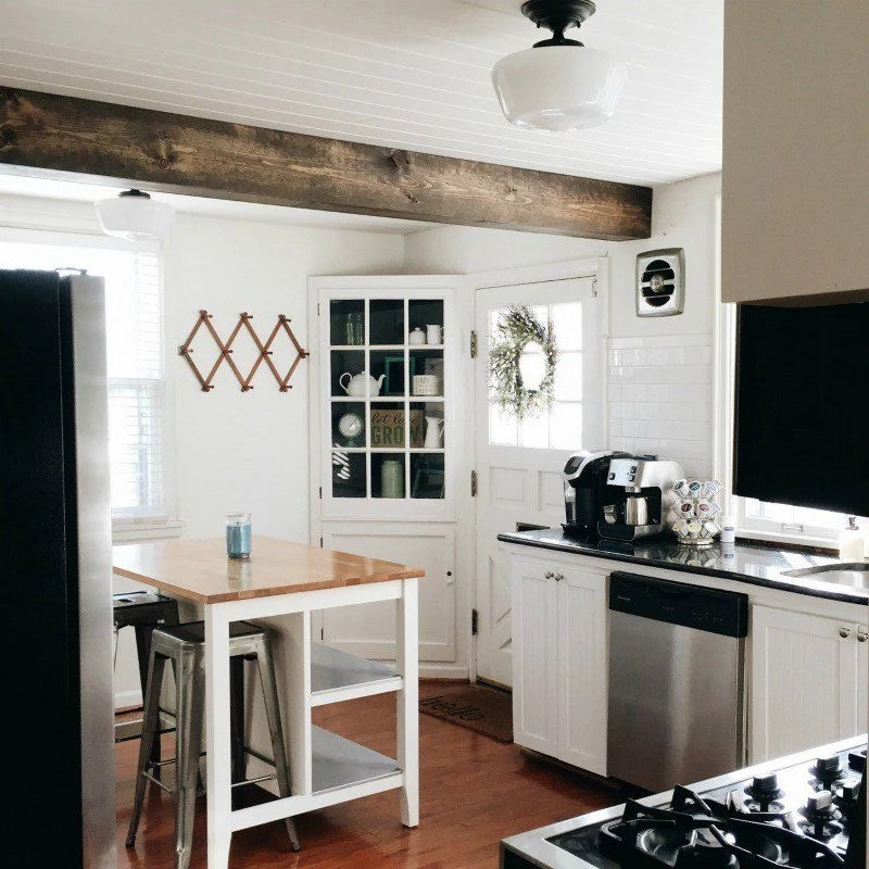kitchen door, white kitchen door, kitchen door ideas, kitchen doors to outside, farmhouse kitchen door, farmhouse kitchen, small farmhouse kitchens, farmhouse kitchen pictures, ideas for painting interior doors