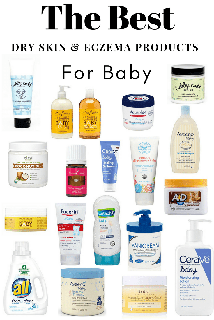 The Best Dry Skin And Eczema Baby Products - Showit Blog