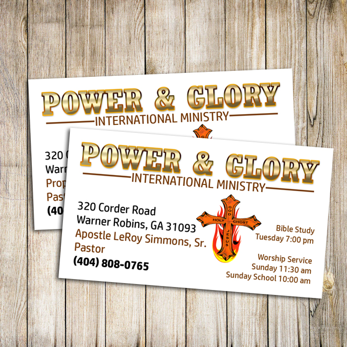 Church Ministry Business Cards – A Plus Print Shop
