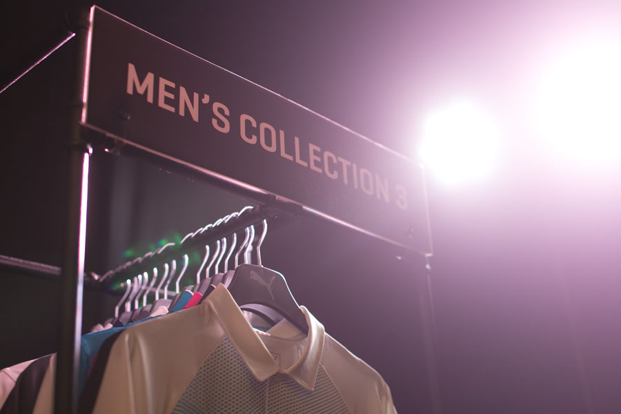 The men's collection