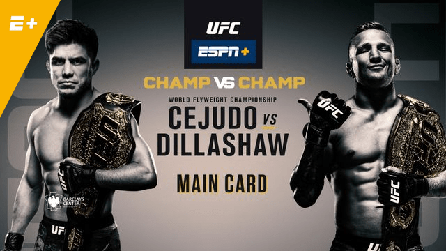 Cejudo And Dillashaw Looking Shredded Ahead Of Their Clash