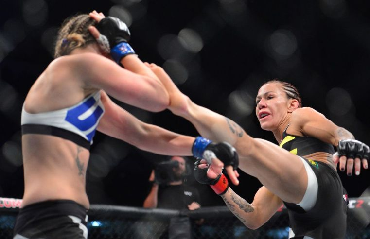 Cris Cyborg And Leslie Smith Come Together To Empower Women