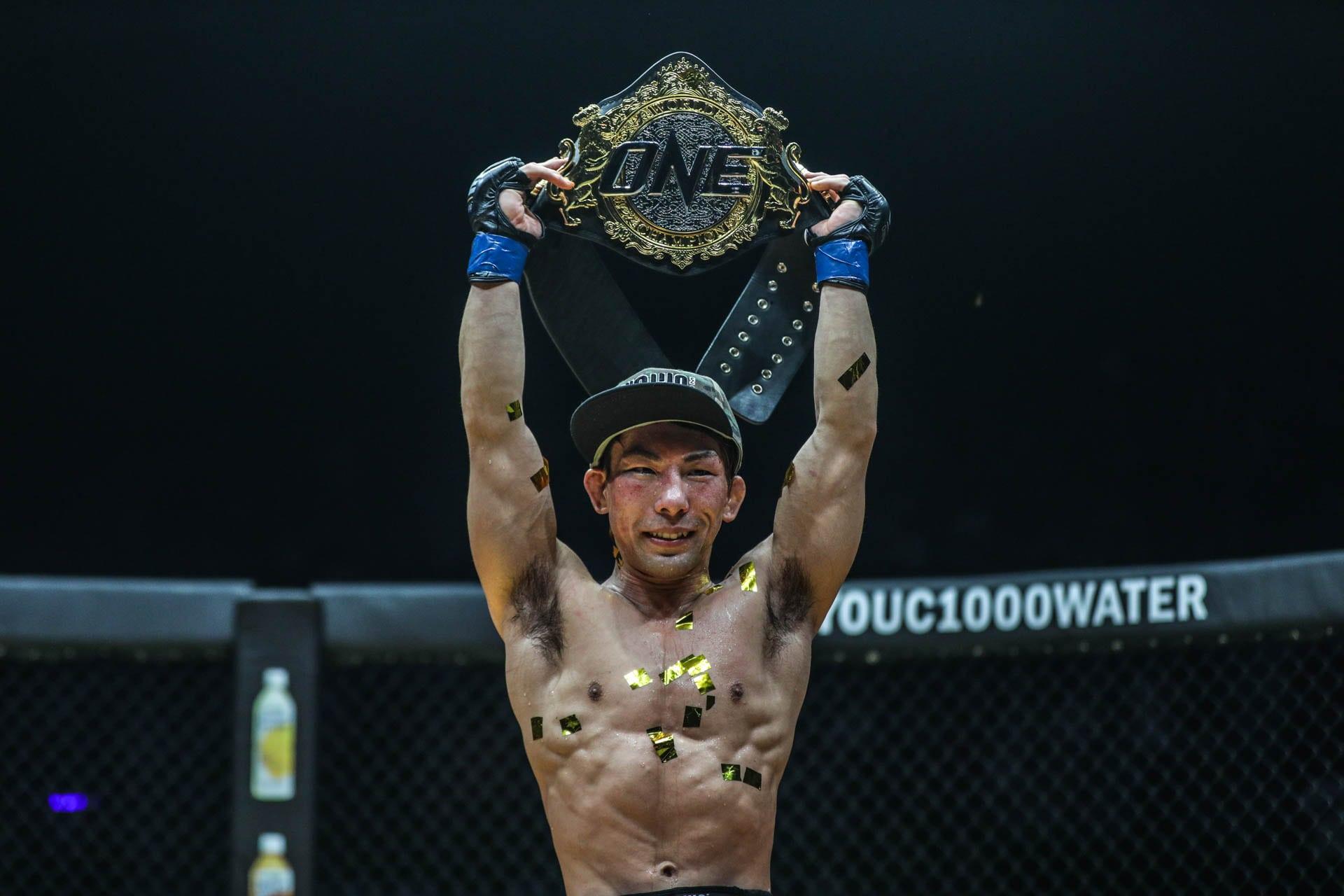Post Fight Interview With The New Champ Yosuke Saruta