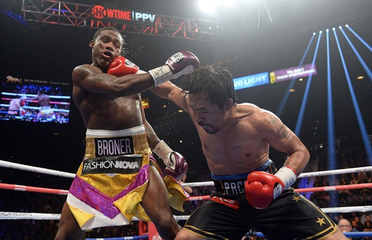 Manny Pacquiao Defeats Adrien Broner, Calls Out Mayweather