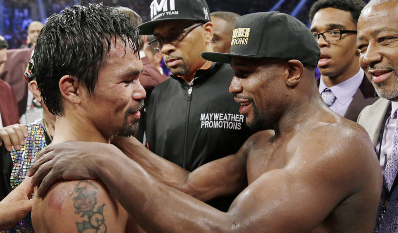 Mayweather And Pacquiao Meet Again Where It All Started