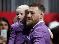 Conor McGregor with his son