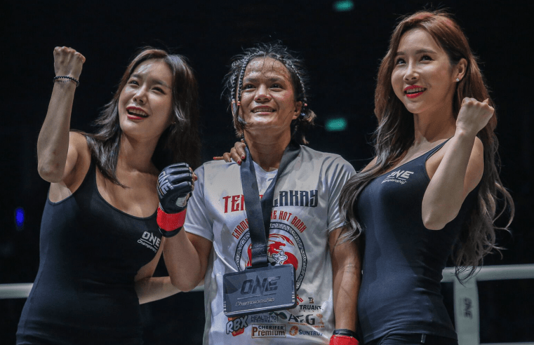 Gina Iniong Dedicates Win At ONE: Clash Of Legends To Mum